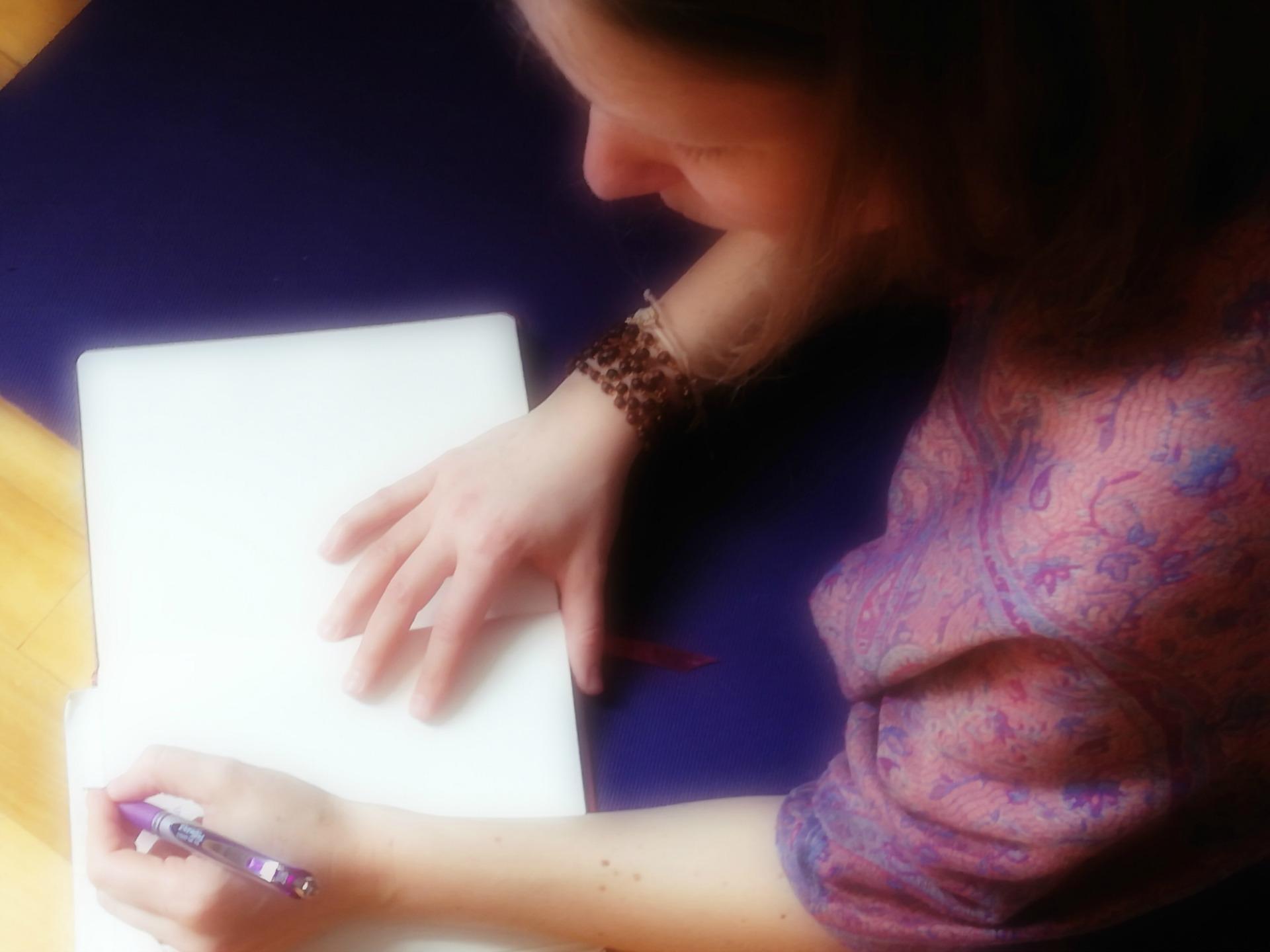 Donner une voix à notre âme par l'écriture